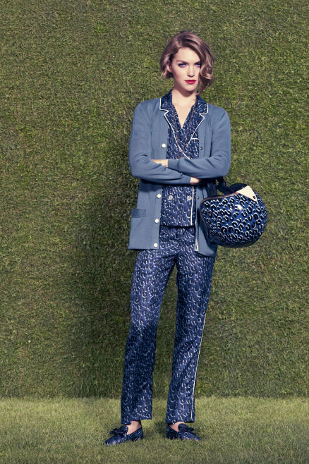 TheSecretCostumier - The Pyjama Look - Louise Vuitton Resort 2012