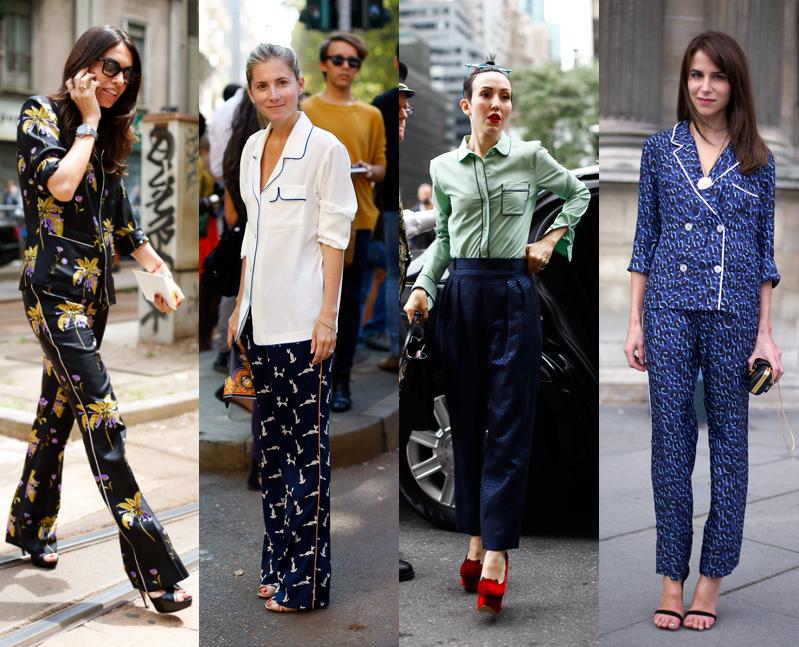 TheSecretCostumier - The Pyjama Look - Street style pyjamas