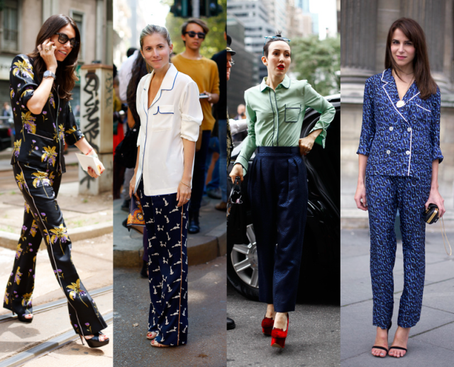 TheSecretCostumier - The Pyjama Look - Street style pyjamas