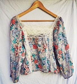 The Secret Costumier - Topshop floral blouse