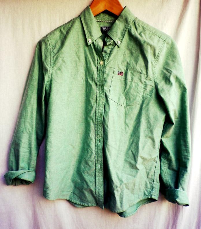 The Secret Costumier - Vintage Ralph Lauren shirt