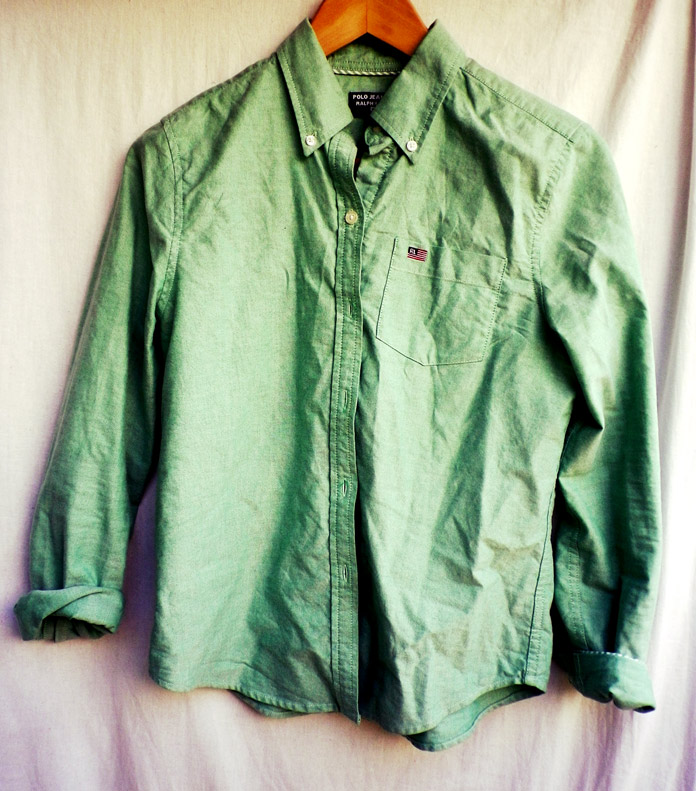 The Secret Costumier - Vintage Ralph Lauren shirt
