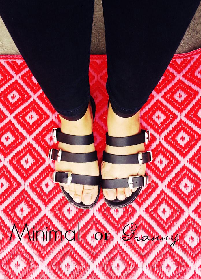 primark buckle detail gladiator sandals
