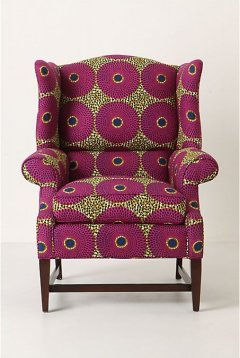 Anthropologie Jofe wingback chair