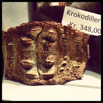 TheSecretCostumier - Copenhagen crocodile skin for sale