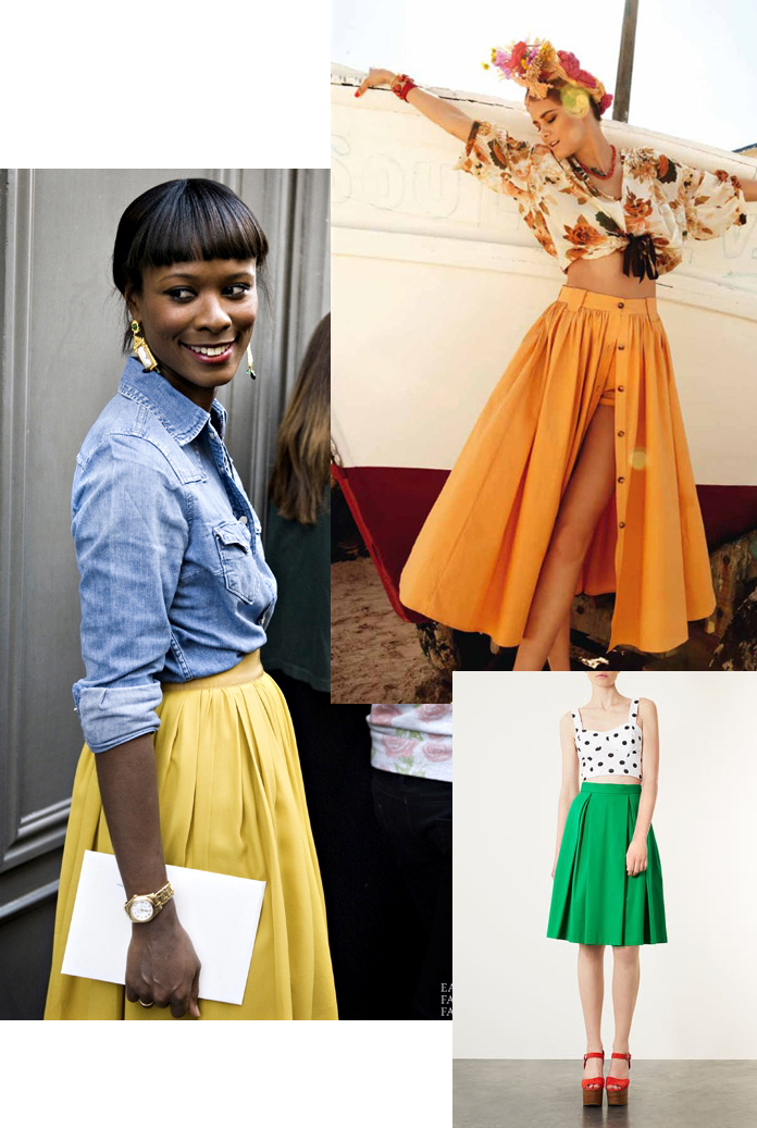 TheSecretCostumier - A-line skirts