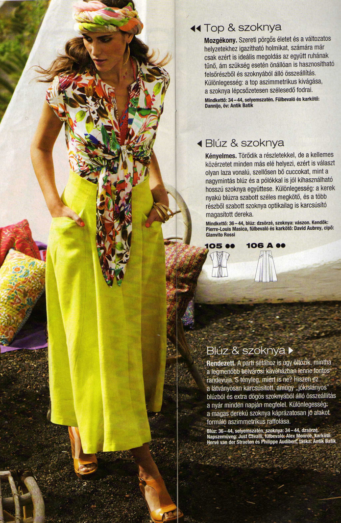 TheSecretCostumier - A-line skirt Burda