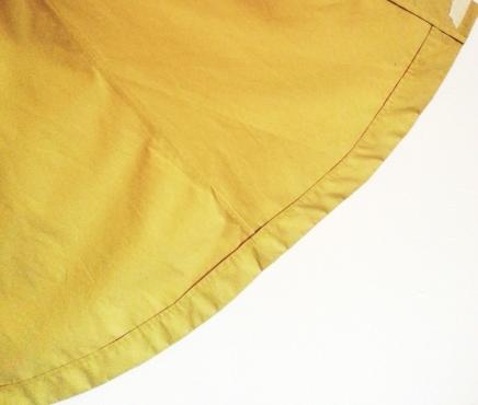 TheSecretCostumier - A-line skirt hem