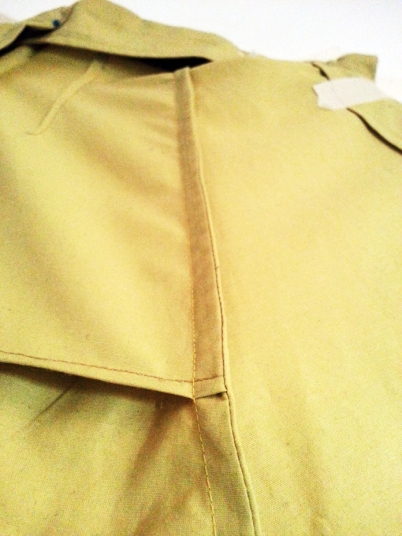 TheSecretCostumier - A-line skirt French seams