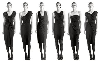 TheSecretCostumier - Infinity dress inspiration - Donna Karan