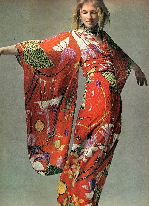 TheSecretCostumier - Bill Blass Kimono