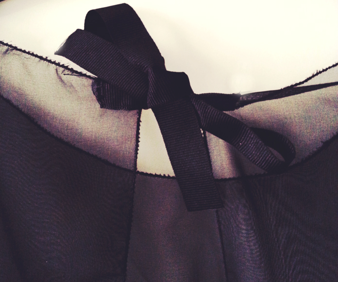 TheSecretCostumier - The Dior dress is ready - details7