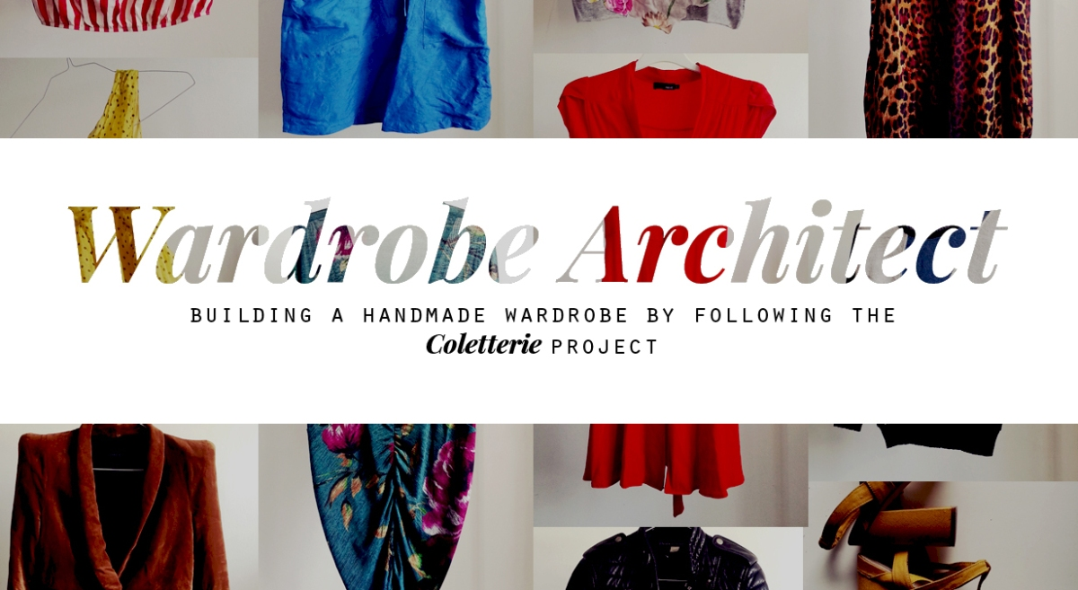 Week Zero: Why start building a handmade wardrobe?