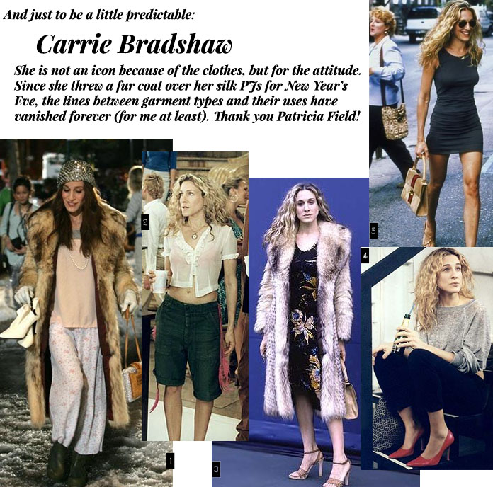 TheSecretCostumier - Carrie Bradshaw