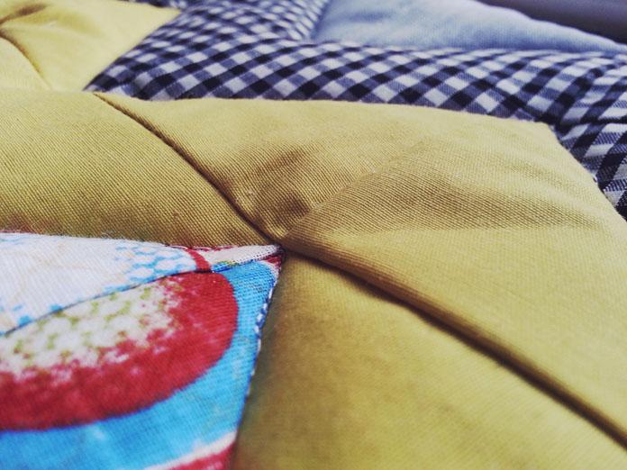 TheSecretCostumier - Patchwork potholder detail
