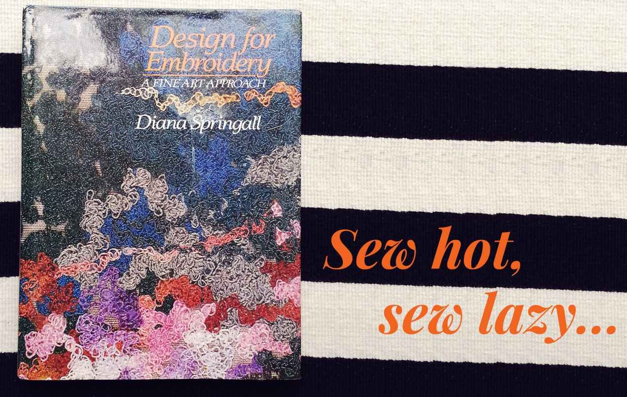 TheSecretCostumier - Embroidery book review