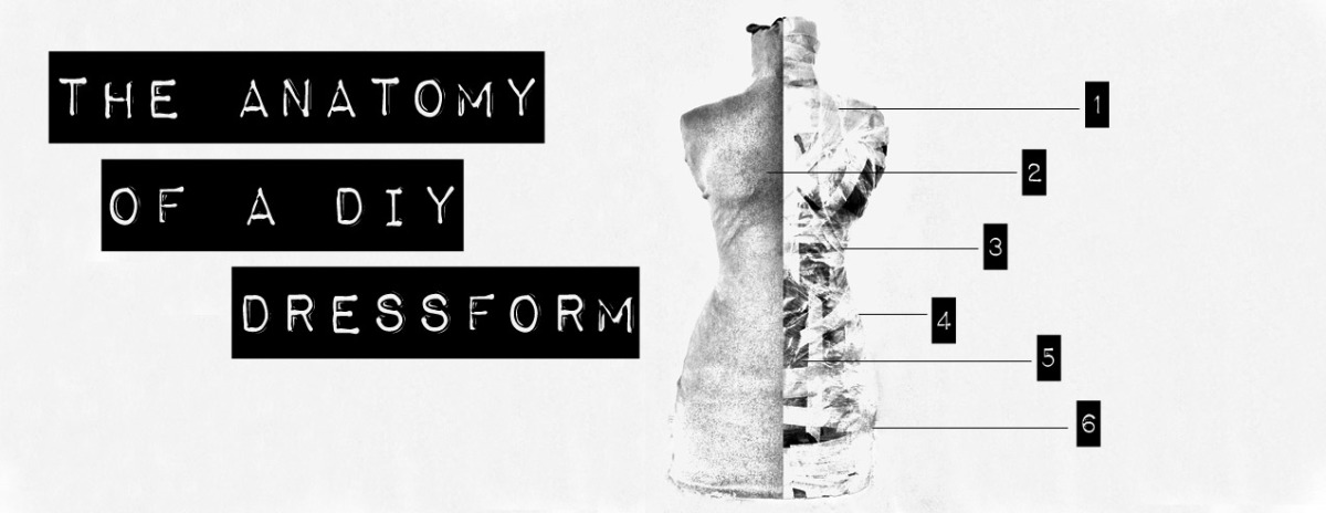 The anatomy of a DIY dressform