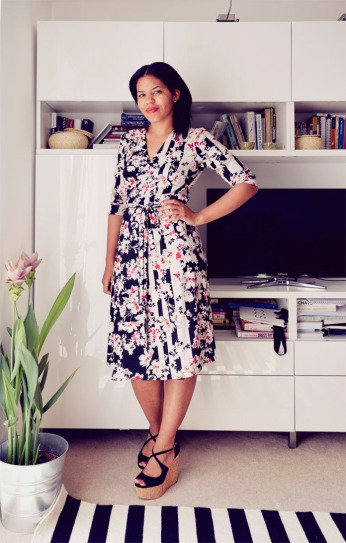 TheSecretCostumier - Yet another wrap dress