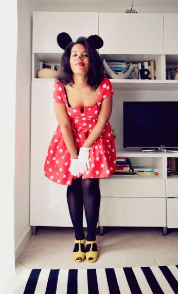 The Secret Costumier - DIY Minnie Mouse Halloween Costume
