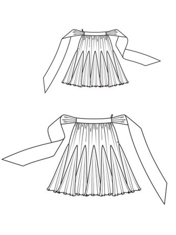 Burdastyle skirt pattern