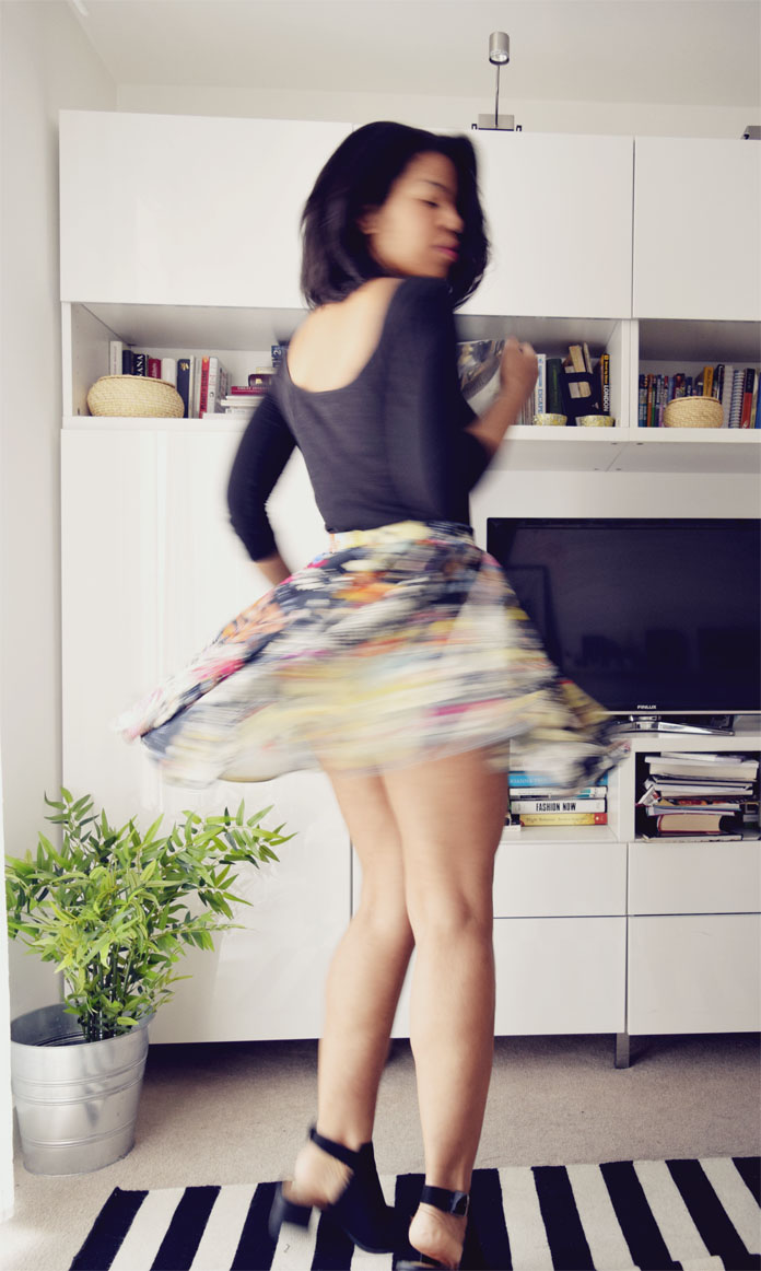 TheSecretCostumier -The quick godet skirt