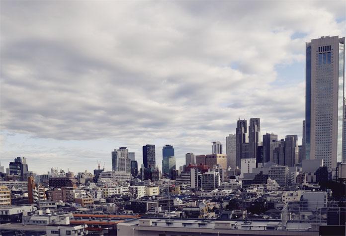 TheSecretCostumier - Tokyo skyline