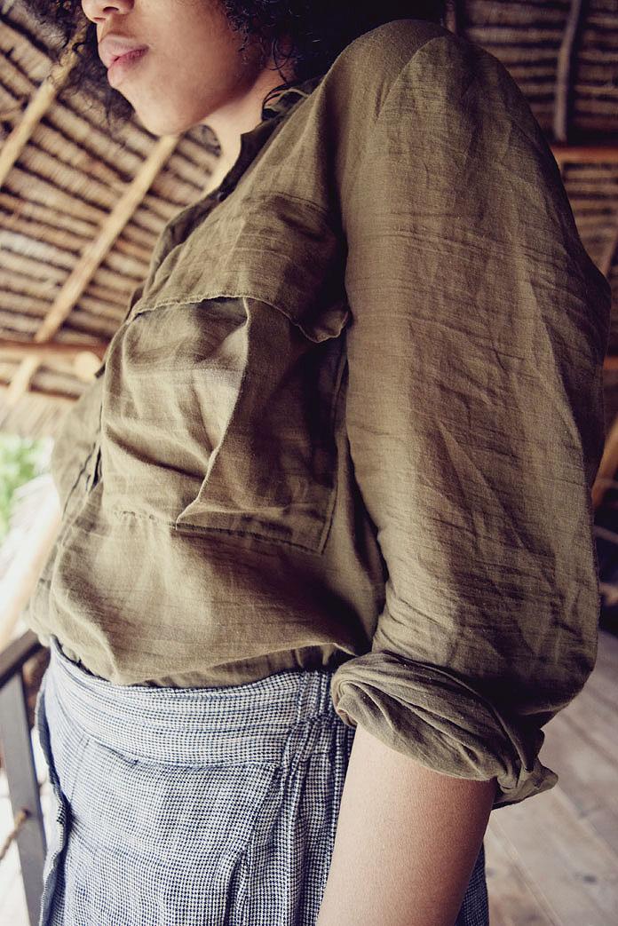 TheSecretCostumier - The Military Shirt5