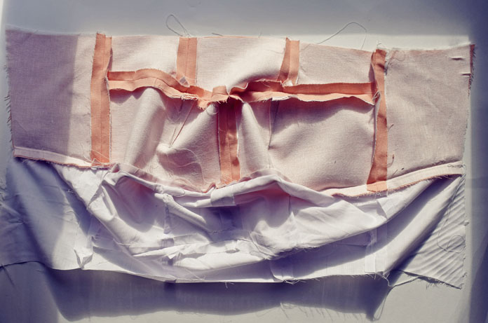 TheSecretCostumier - #usedtobeatablecloth -The construction