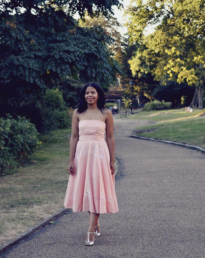 TheSecretCostumier - #usedtobeatablecloth - The dress