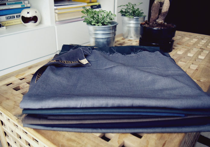 The Secret Costumier - Quilting prep