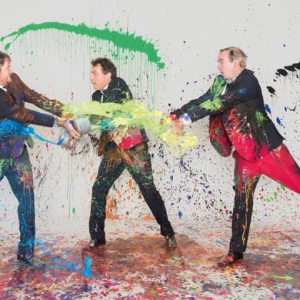 Art – OLD VIC Apocalypse because of a white square…' A global phenomenon celebrating its twentieth anniversary, 'Art' returns to London for a limited run. http://www.oldvictheatre.com/whats-on/2016/art/