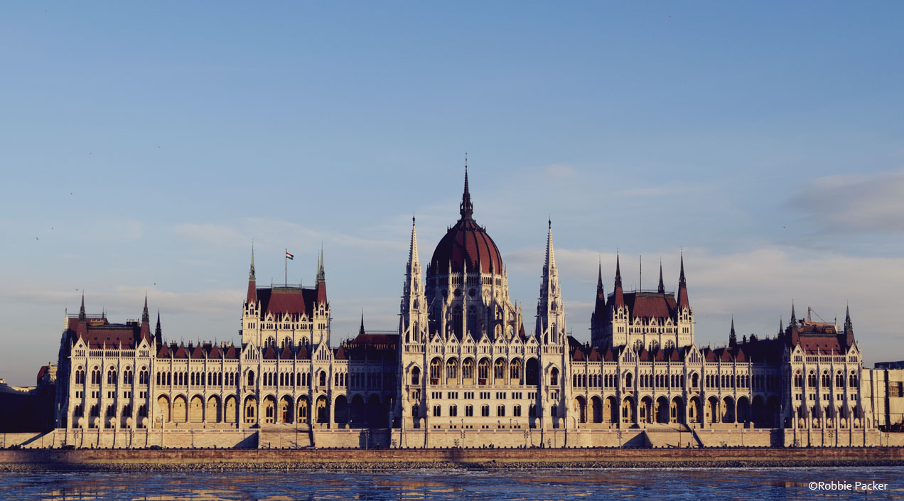The Secret Costumier - Budapest - The Hungarian Parliament Building ©Robbie Packer