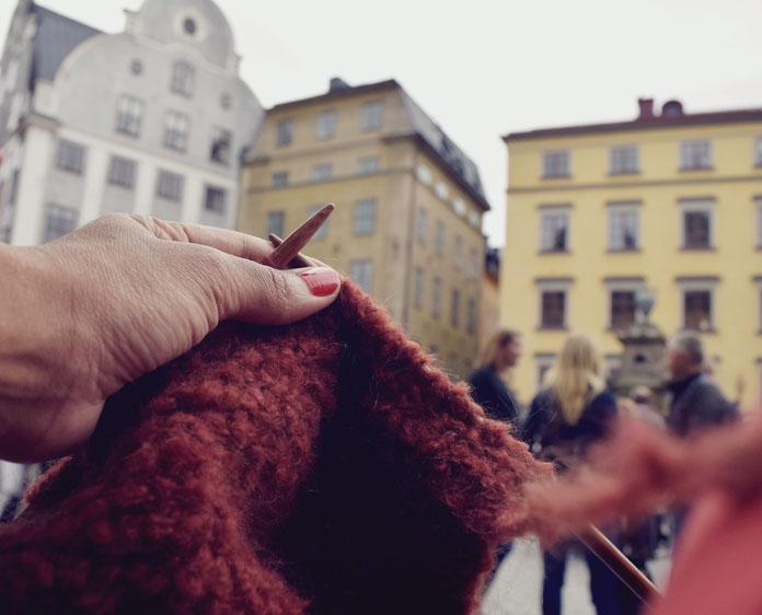 The Secret Costumier - Knitting